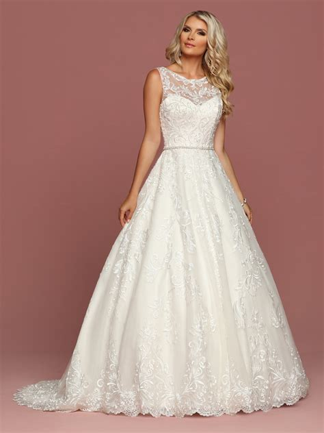 Bridal Dresses - style 50506 davinci wedding dresses