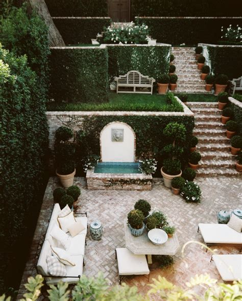 mark d sikes ceramics and pottery arts and resources homes we love hollywood hills garden from lonny magazine