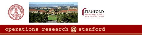 operations research  stanford
