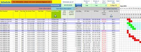Aplikasi Untuk Membuat Jadwal Kegiatan | aplikasi excel untuk menyusun jadwal produksi iyanzone
