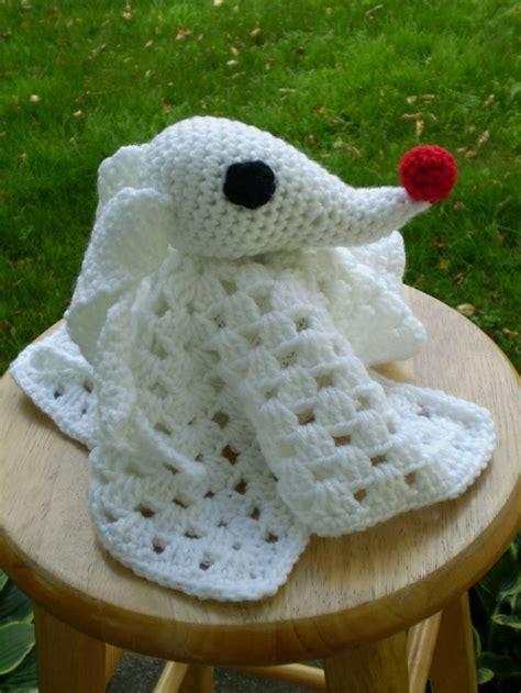 Nightmare Before Christmas Zero Crochet Pattern | 2014 handmade halloween nightmare before christmas crochet