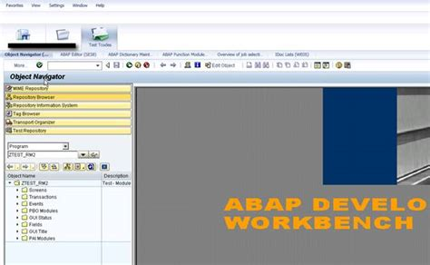 sap nwbc tutorial how to configure the folder and add transactions in it on