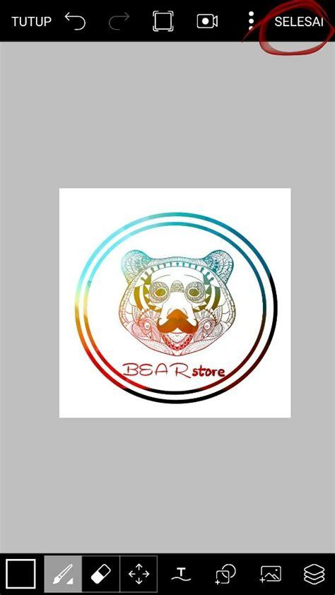 membuat logo olshop  picsart wafariq blog