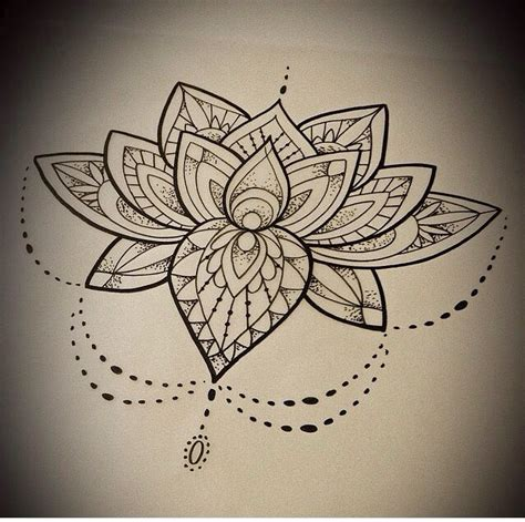 tattoo mandala flower lotus mandala flower tattoo tattoo ideas pinterest
