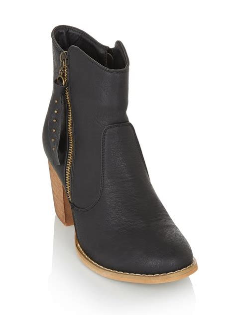 Boots Rage Black rage ankle boots with block heel black j249302 spree co za