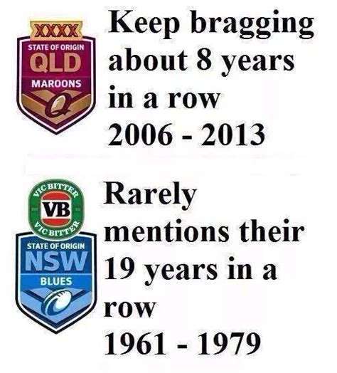 Nsw Blues Memes - nsw state of origin mate i never knew we had 19 wins in
