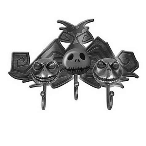 jack skellington home decor nightmare before christmas jack metal key hooks neca