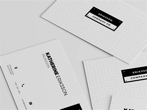 Minimalist Business Cards Templates Psd by Minimal Business Card Templates Psd Charlesbutler