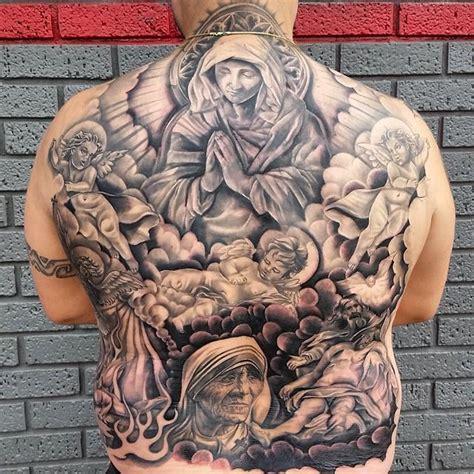 tattoo jesus cristo nas costas 65 tatuagens da virgem maria lindas e inspiradoras