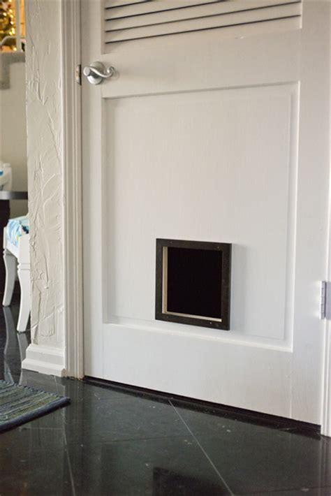 Cat Doors For Exterior Doors Hometalk Diy Cat Door