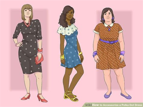 Dress Polka Dress By Hijabinc how to accessorize a polka dot dress 13 steps with pictures