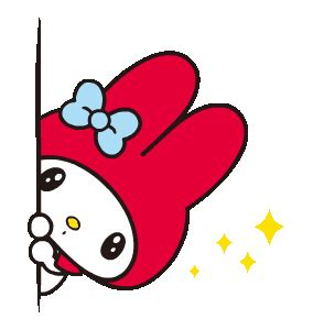 wallpaper emoticon line my melody line sticker œuvres d art pinterest