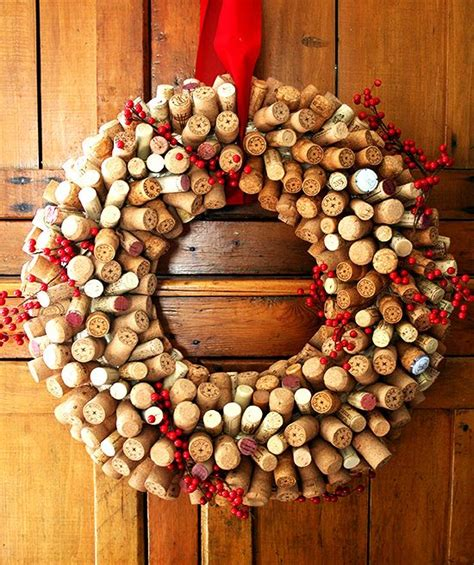 christmas cork idea images how to make a cork wreath food related gift ideas corks wine and wine cork wreath