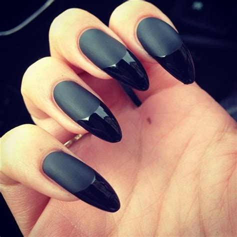 matte pointed nails tips and ideas acrylic nails kerryloweworld