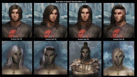 Skyrim Human Hair Styles | apachiiskyhair at skyrim nexus mods and community