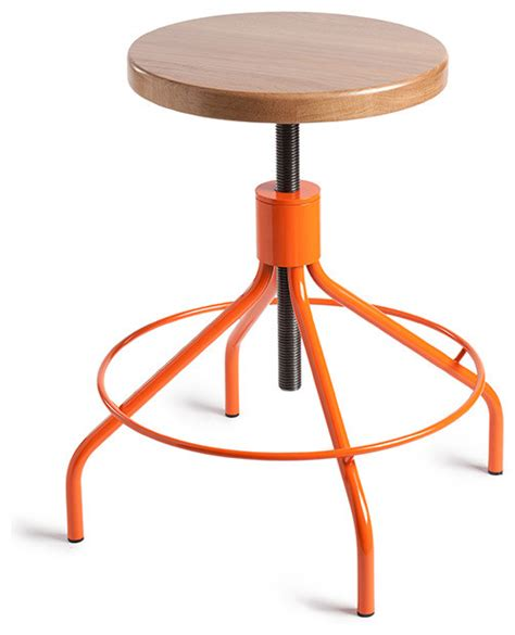 environment sputnik stool orange modern bar