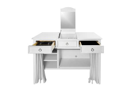 Mirrored Desk Accessories Classic Classic Vanity Desk With Optional Accessories Itsy Bitsy Ritzy Shop