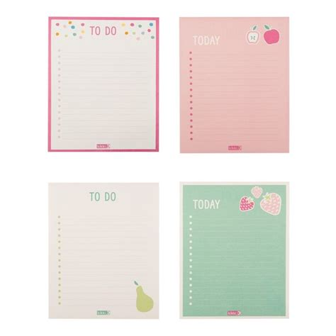 free printable planner pad to do list pad cute printables pinterest journal
