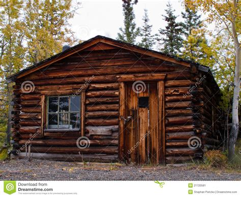 traditional log cabin plans old weathered traditional log cabin yukon canada stock