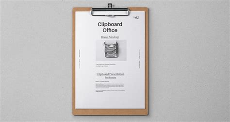 psd clipboard stationery mockup psd mock up templates