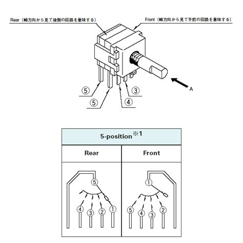 rotary switch diagram three position rotary switch wiring diagram get free