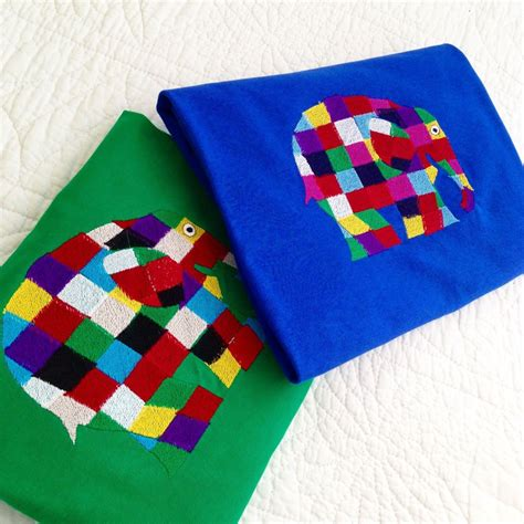 Elmer Patchwork - elmer the patchwork elephant t shirt at jellibabies