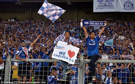 chelsea fc indonesia review pertandingan bni indonesia all stars v chelsea fc