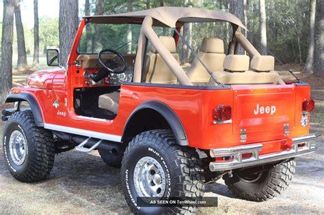 1981 Jeep Cj7 1981 Jeep Cj7