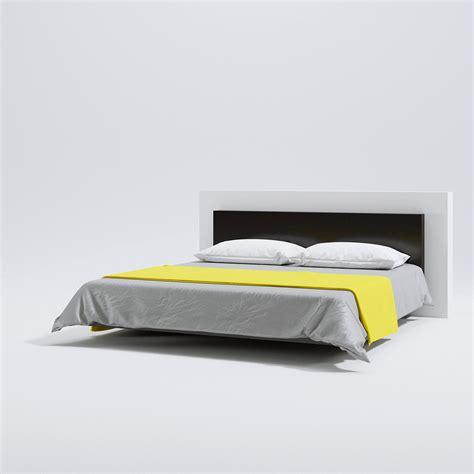 levitating bed levitating bed triangle form 3d models scenes