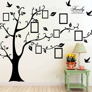 Childrens Wall Mural Stickers family tree wall art ebay