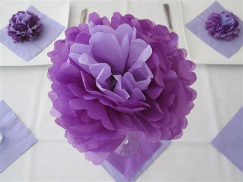 How To Make Flowers With Tissue Paper - cassadiva how to make tissue paper flowers
