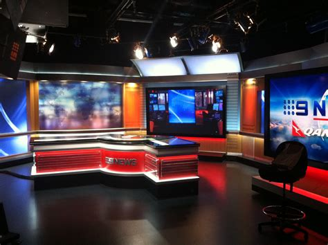 Room Nine by Seven 17 Bourke A Visit To The Channel Nine Studio The