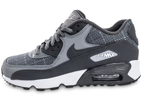 nike air max 90 se wool grise chaussures baskets femme chausport
