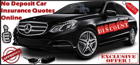 Cheap Car Insurance 1 Month by Cheap No Deposit Car Insurance Policy Low Deposit Zero