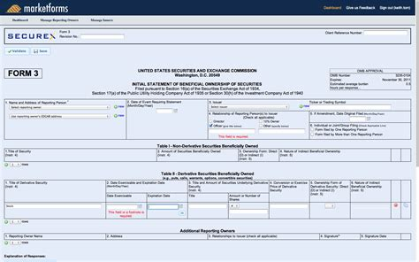 section 16 filer marketforms sec filing company online sec filings for