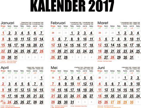 Kalender Baru 2017 kumpulan kalender 2017 beserta hari libur nasionalnya