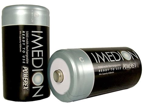 Baterai Rechargeable Sanyo battery charge size c d baterai battery senter