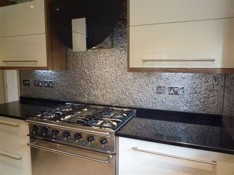 Textured Glass Kitchen Splashback   Kitchen Ideas