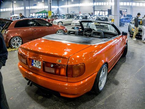 Audi Cabriolet Tuning by Audi 80 Cabriolet Foto Auto Motor Und Tuning Show 2014