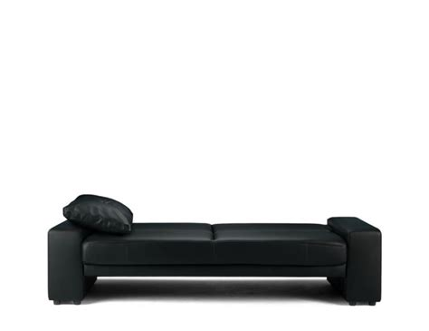 Supra Sofa Bed Supra Black Faux Leather Sofa Bed