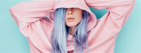 temporary blue hair color temporary blue hair dye trendy coloring