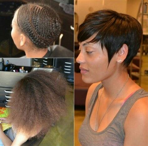 short black sew ins 1000 ideas about short sew in hairstyles on pinterest