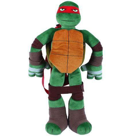 Kaos 3d Tmnt Rafael mutant turtles raphael 3d plush backpack tv s box