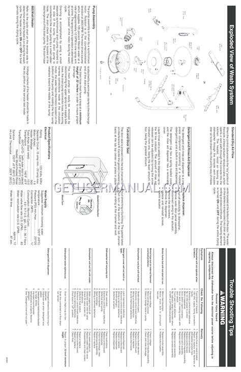 frigidaire dishwasher wiring diagrams wiring diagram