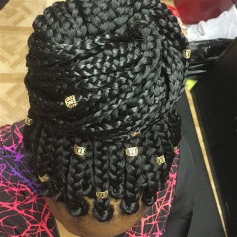 55 of the Most Beautiful Jumbo Box Braids to Inspire Your