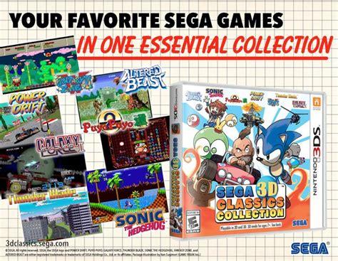 sega 16 sega 3d classics collection coming to 3ds