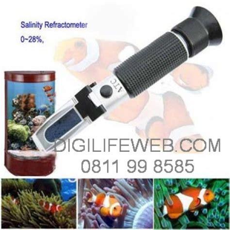 Alat Test Salinity Refractometer by Refractometer Salt Salinity 0 28 Ukur Kadar Garam