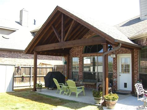 Gable End Patio Cover With best gable patio cover picture