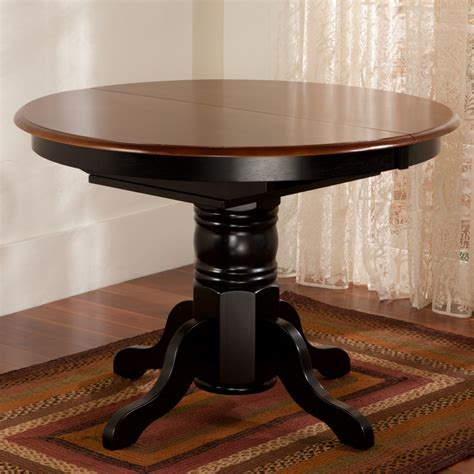 newcastle two tone dining table sturbridge yankee workshop