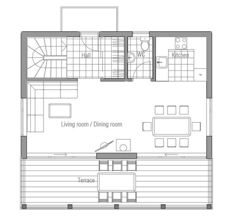affordable open floor plans affordable home ch59 to narrow lot with full info house plan